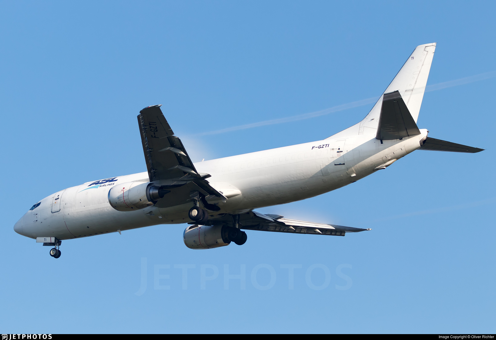 F-GZTI - Boeing 737-408(SF) - ASL Airlines