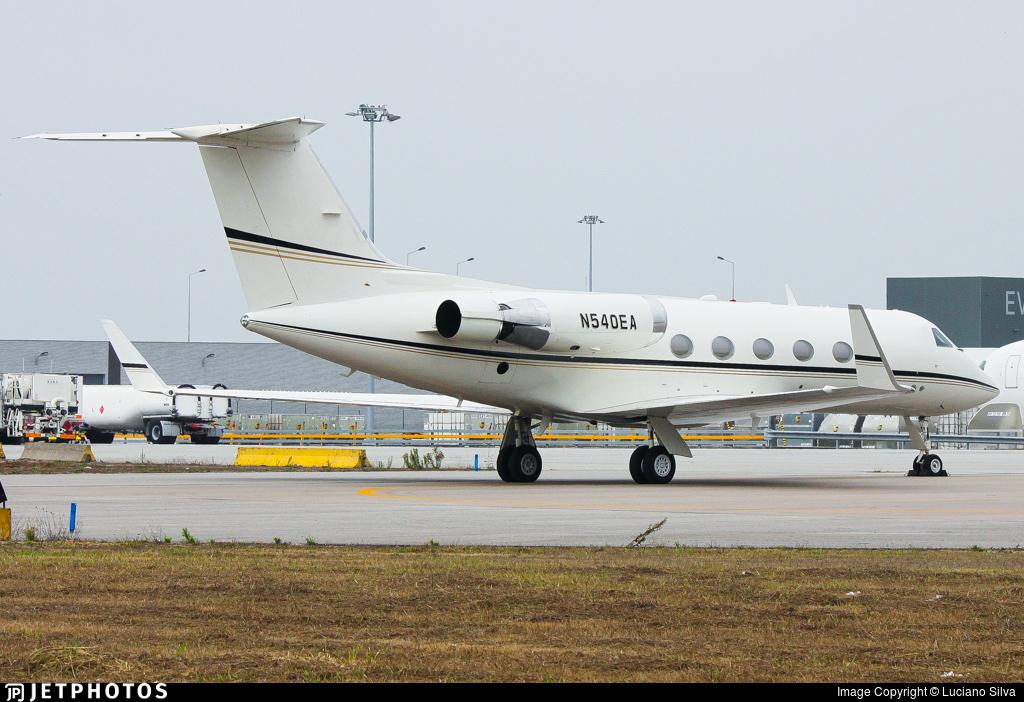 N540EA - Gulfstream G-II(SP) - Private
