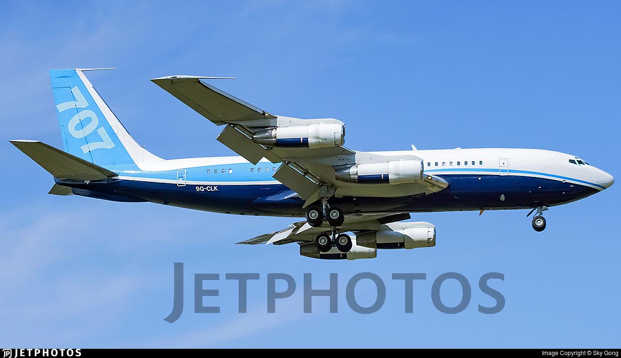 9Q-CLK - Boeing 707-138B - Democratic Republic of Congo - Government