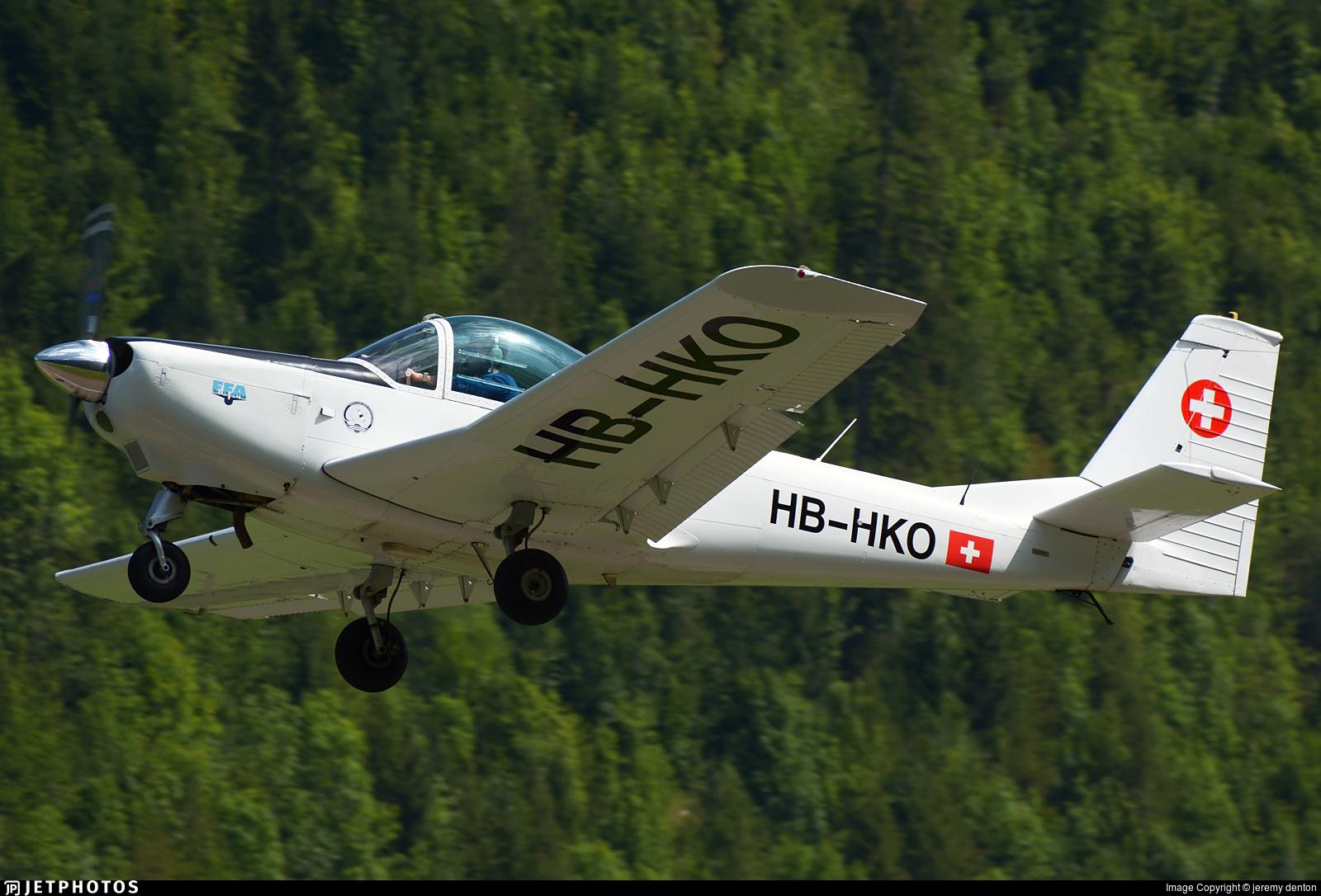 HB-HKO - FFA AS-202/18A Bravo - Private
