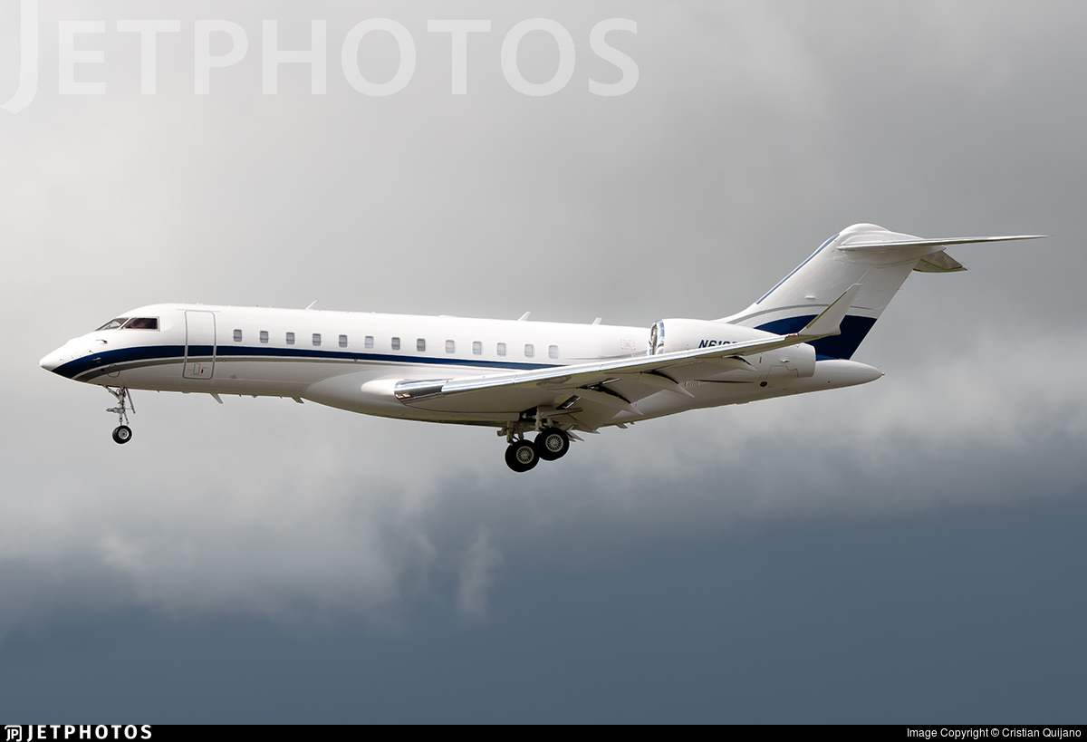 N610SW - Bombardier BD-700-1A10 Global 6000 - Private