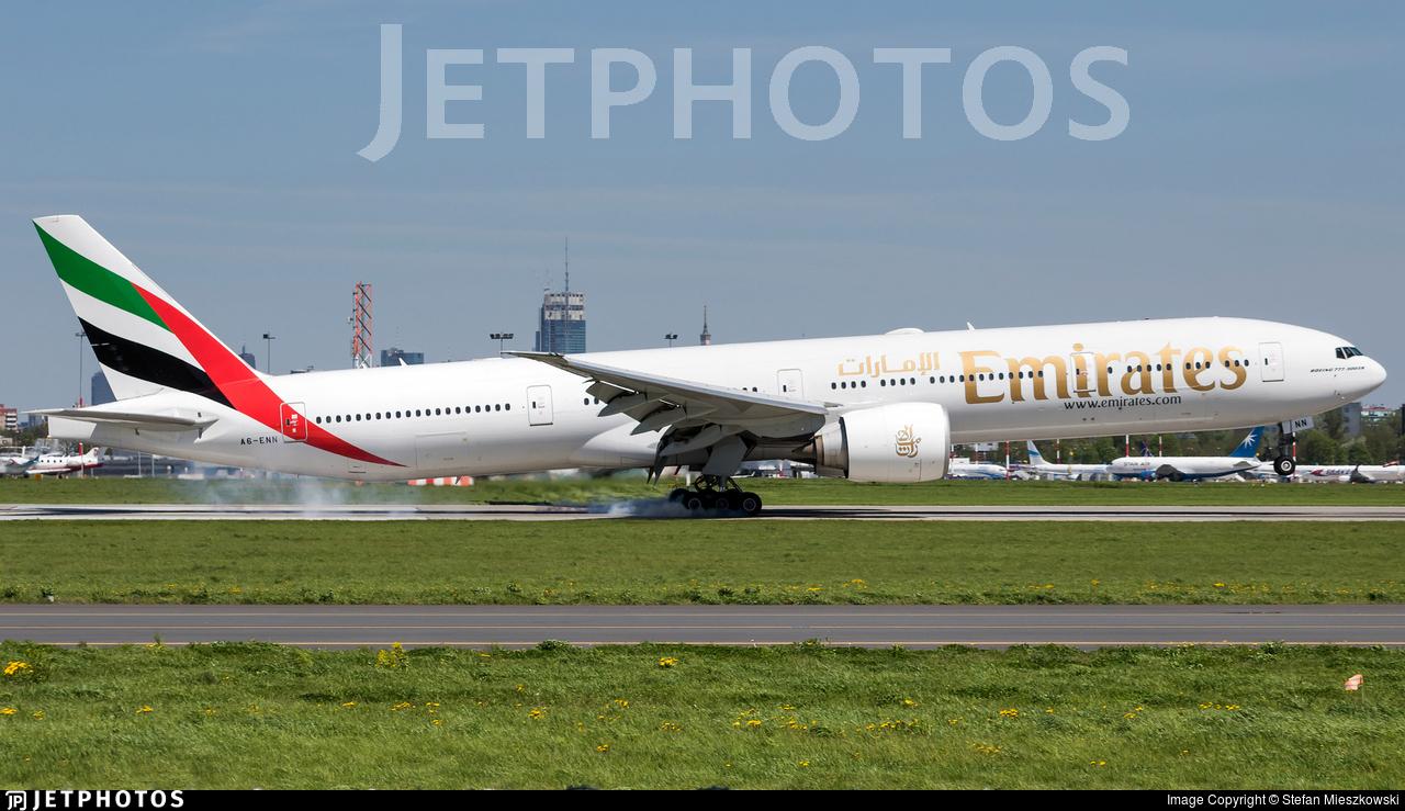 A6-ENN - Boeing 777-31HER - Emirates