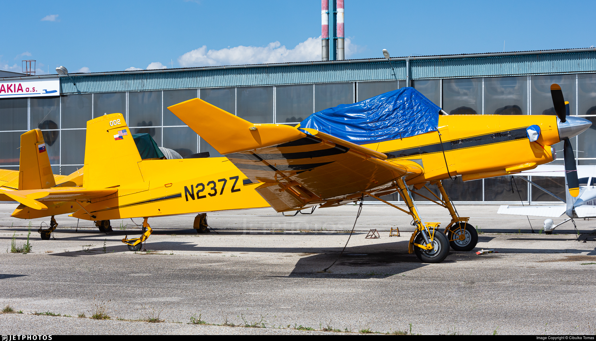 N237Z - Zlin Z-37T-2 - Private