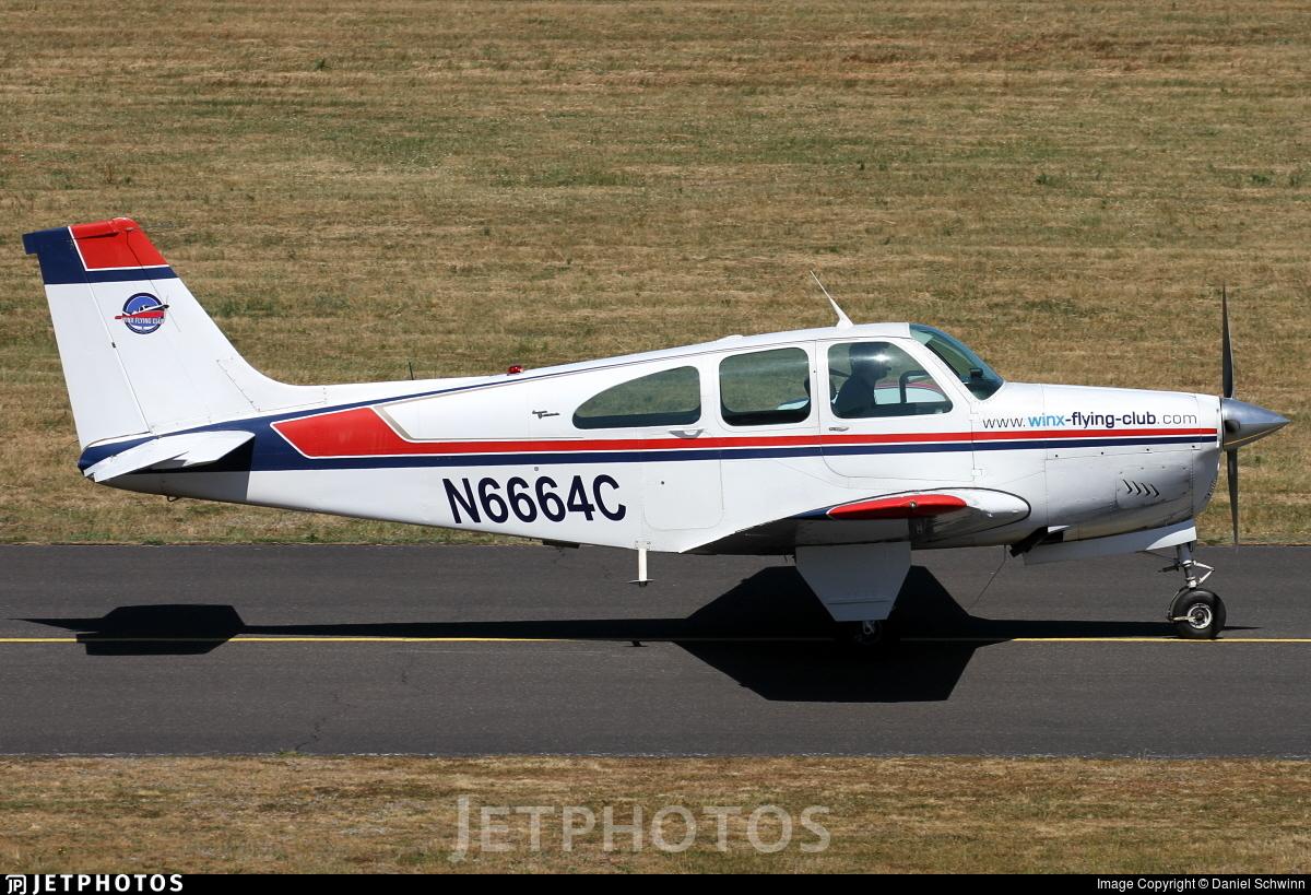 N6664C - Beechcraft 35 Bonanza - Winx Flying Club