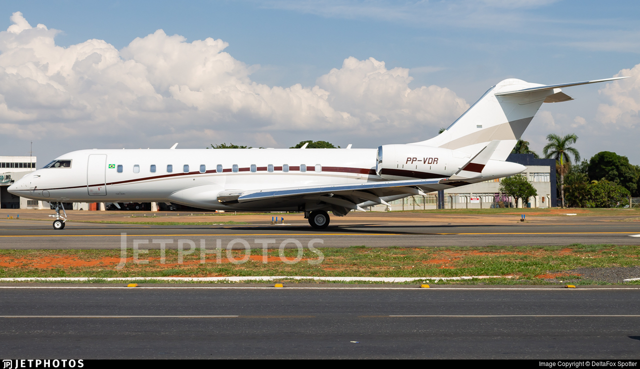 PP-VDR - Bombardier BD-700-1A10 Global Express XRS - Companhia Vale De Rio Doce