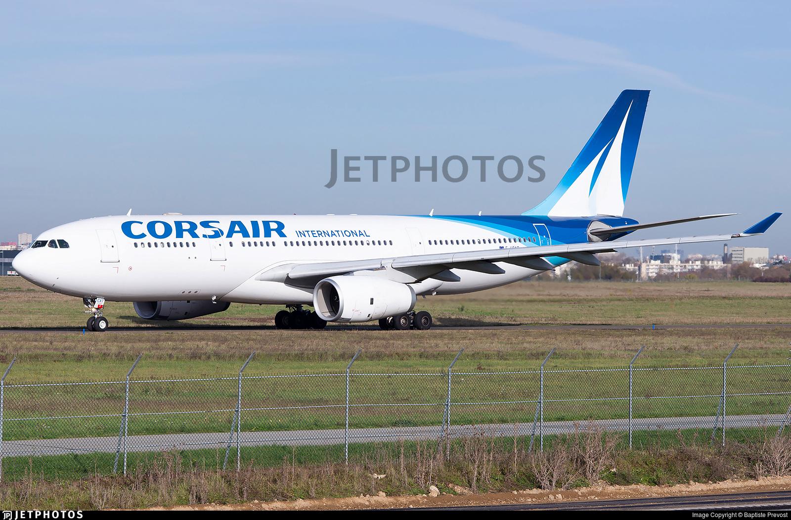 F-HCAT - Airbus A330-243 - Corsair International