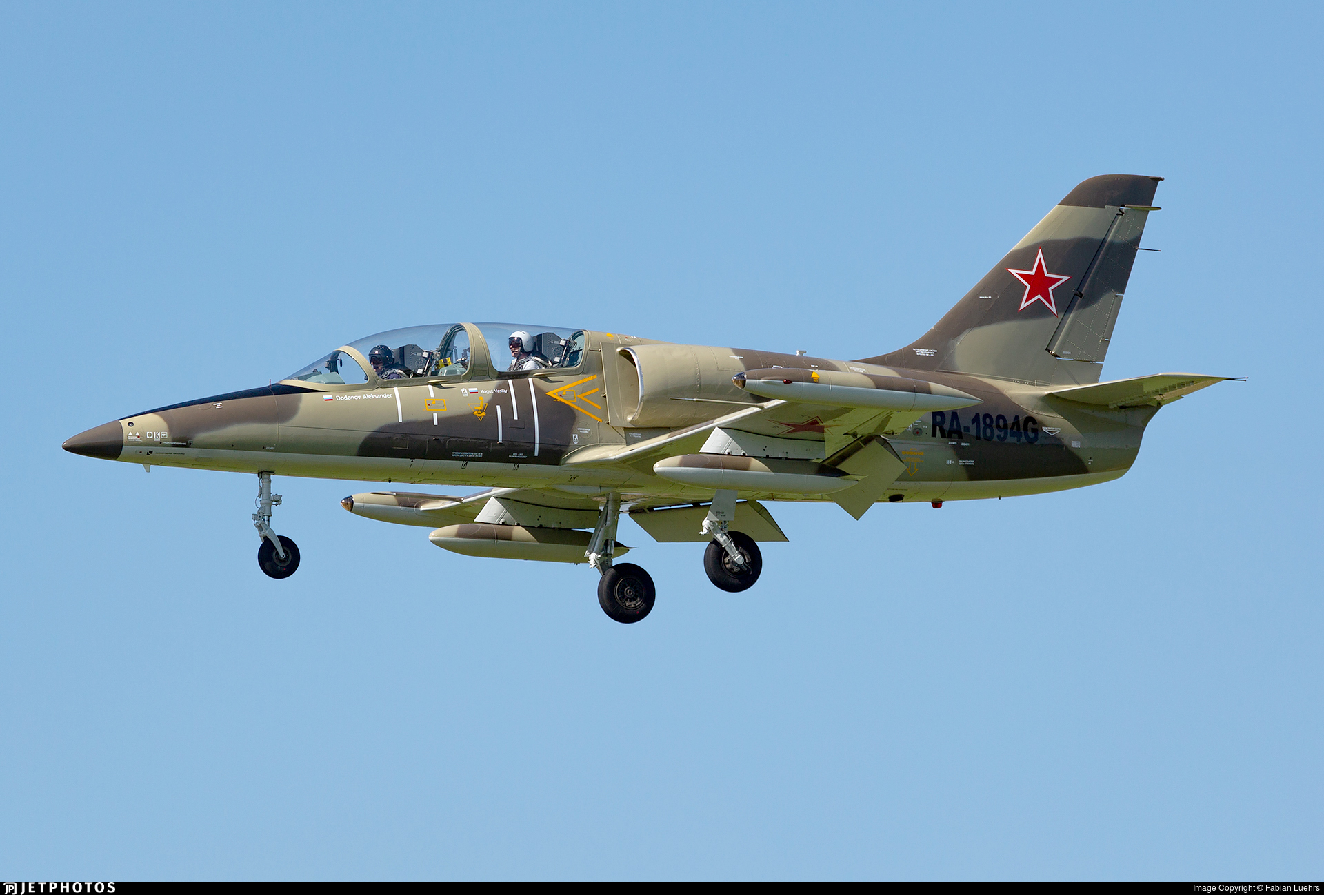 RA-1894G - Aero L-39C Albatros - Russia - Defence Sports-Technical Organisation (ROSTO)