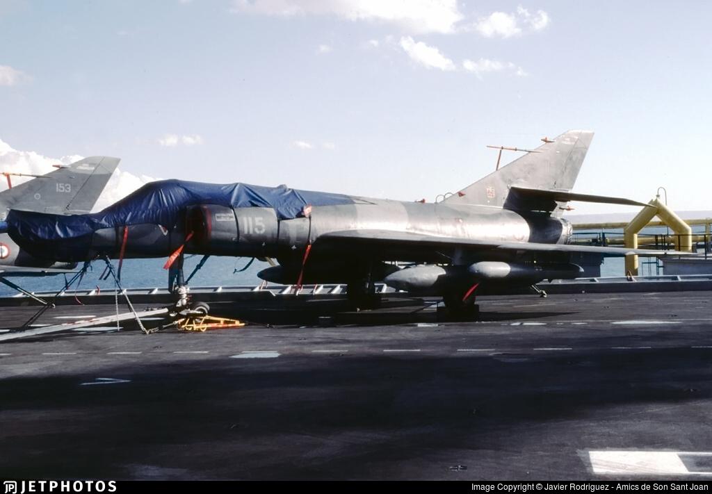 115 - Dassault Super Étendard - France - Navy