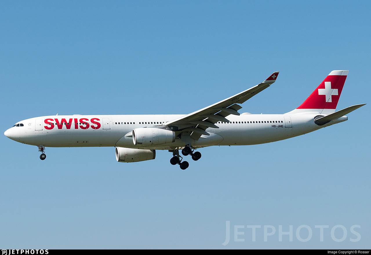 HB-JHE - Airbus A330-343 - Swiss