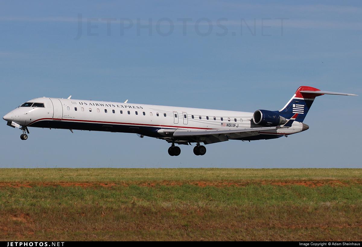 N911FJ - Bombardier CRJ-900ER - US Airways Express (Mesa Airlines)