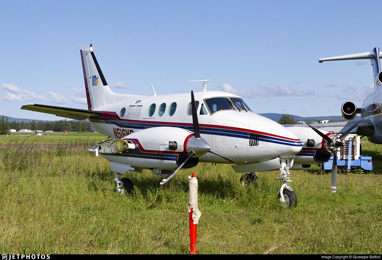 N516WB - Beechcraft 90 King Air - Private