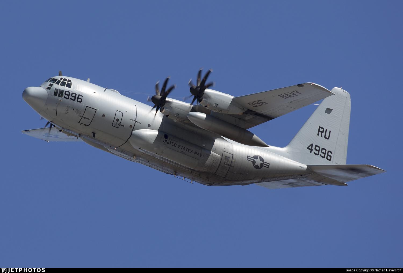 164996 - Lockheed C-130T Hercules - United States - US Navy (USN)