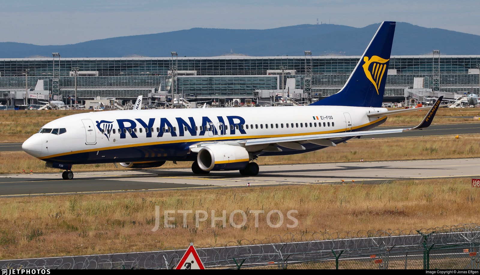 EI-FOG - Boeing 737-8AS - Ryanair
