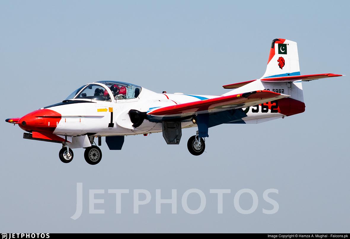 62-5962 - Cessna T-37C Tweety Bird - Pakistan - Air Force