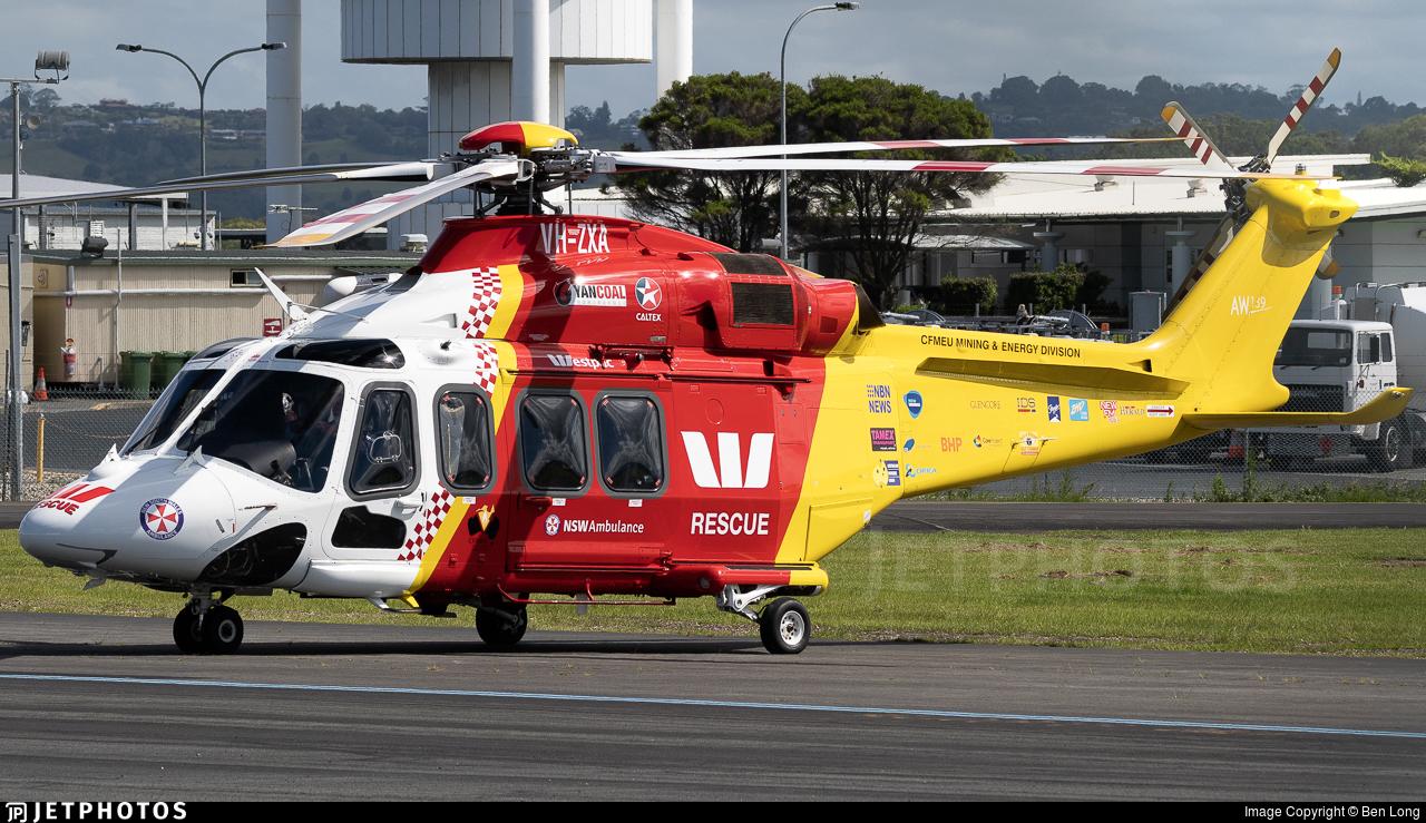 VH-ZXA - Agusta-Westland AW-139 - Northern Region Helicopter Rescue Service