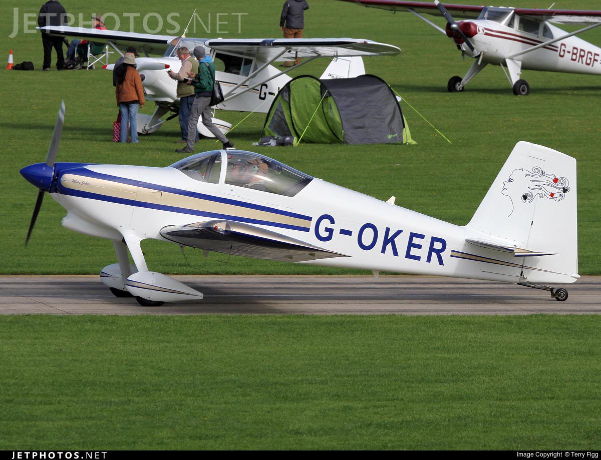 G-OKER - Vans RV-7 - Private