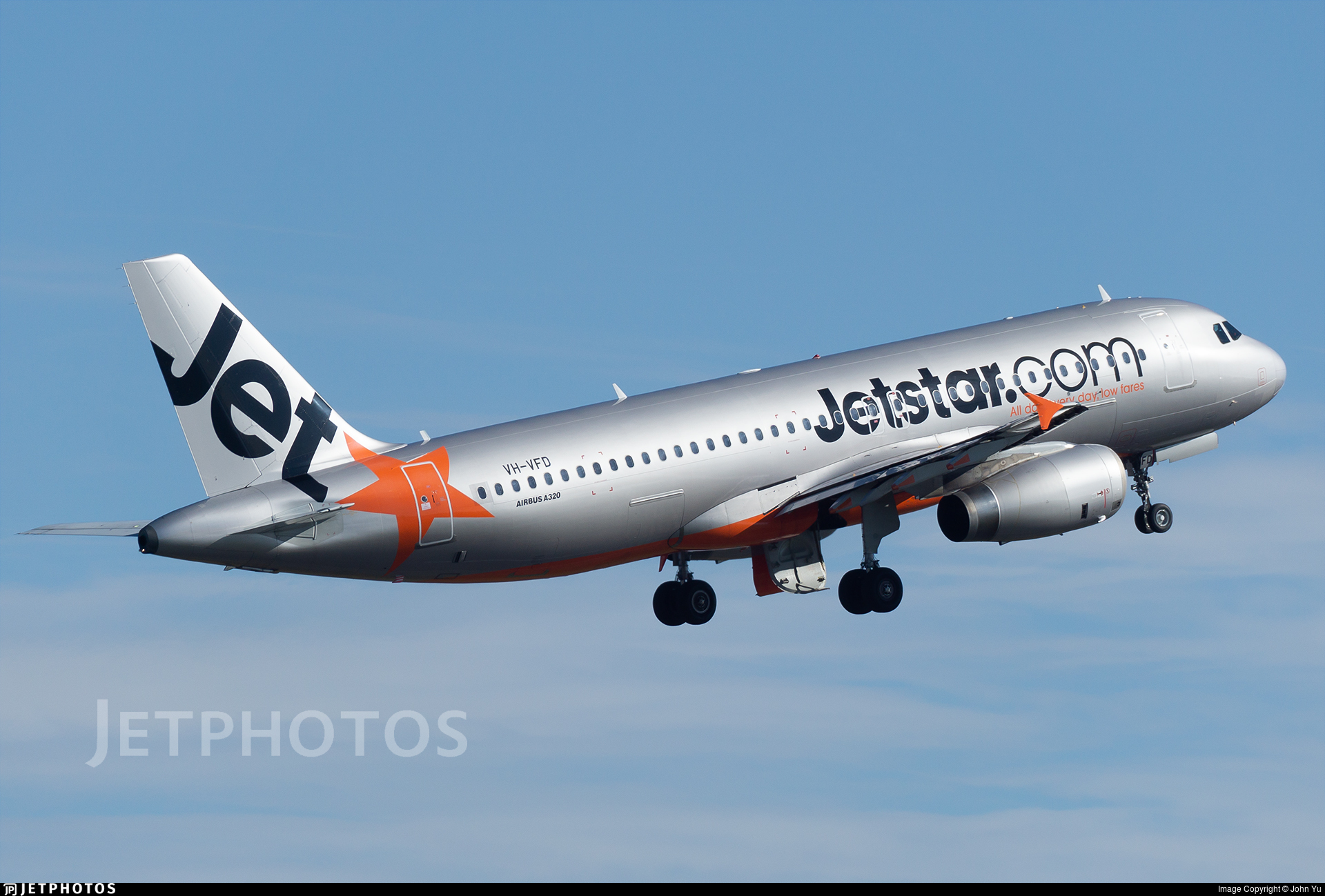 VH-VFD - Airbus A320-232 - Jetstar Airways