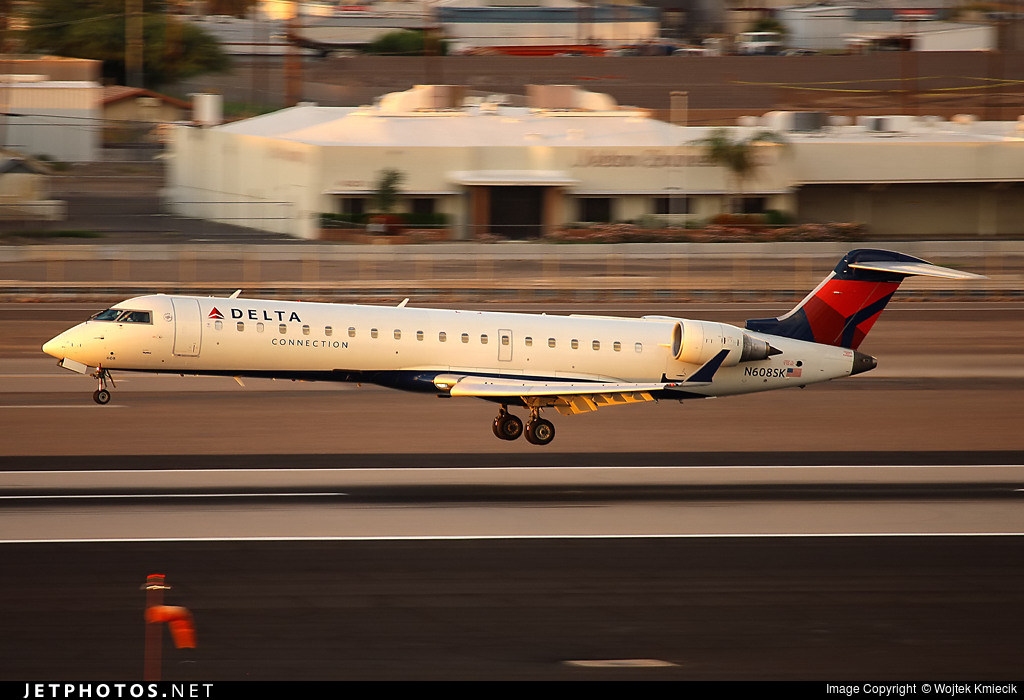 N608SK - Bombardier CRJ-701 - Delta Connection (SkyWest Airlines)
