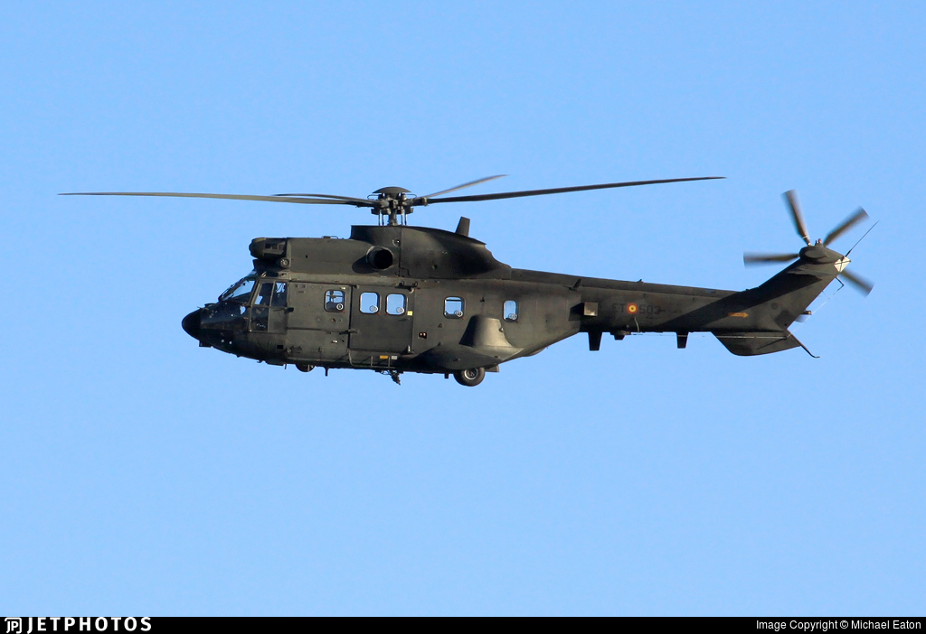 HU.21-05 - Aérospatiale AS 332B Super Puma - Spain - Army