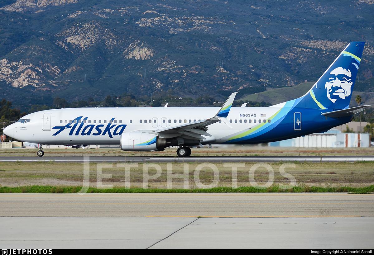N563AS - Boeing 737-890 - Alaska Airlines