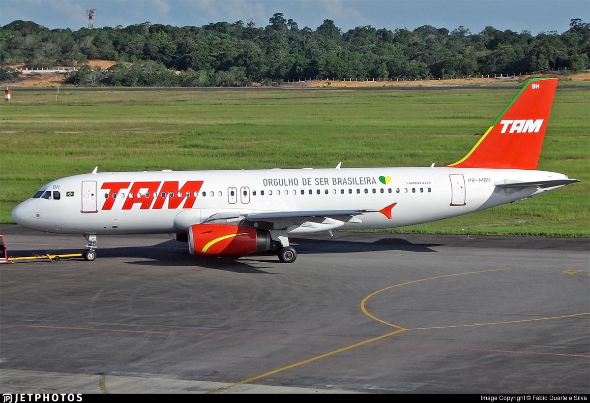 PR-MBH - Airbus A320-232 - TAM Linhas Aéreas