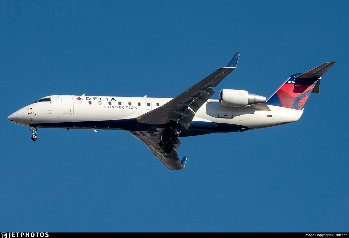 N8936A - Bombardier CRJ-200LR - Delta Connection (Endeavor Air)