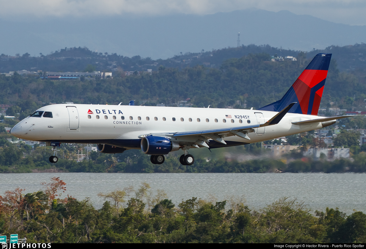 N294SY - Embraer 170-200LR - Delta Connection (SkyWest Airlines)