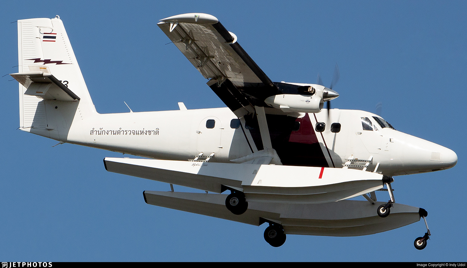 36973 - Viking DHC-6-400 Twin Otter - Thailand - Royal Thai Police Wing