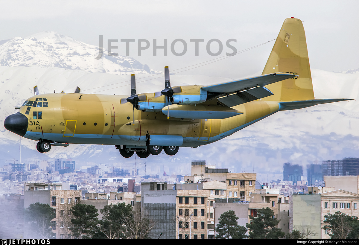 5-8515 - Lockheed C-130E Hercules - Iran - Air Force