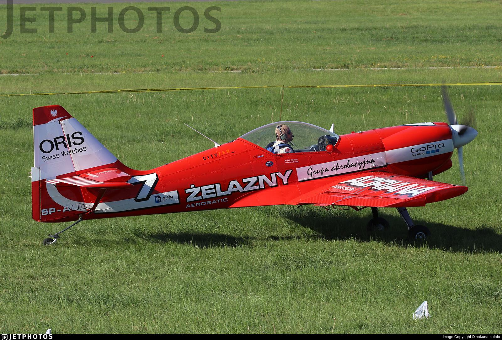 SP-AUD - Zlin 50LS - Zelazny Aerobatic Team