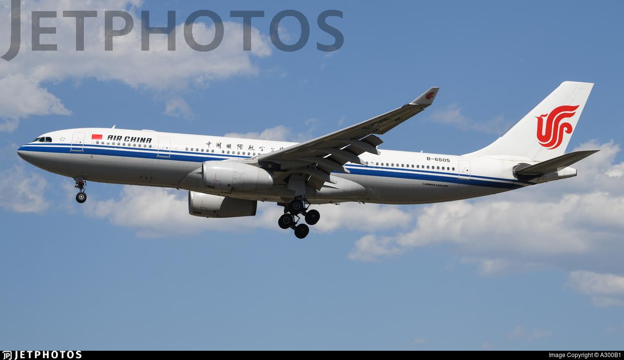 B-6505 - Airbus A330-243 - Air China