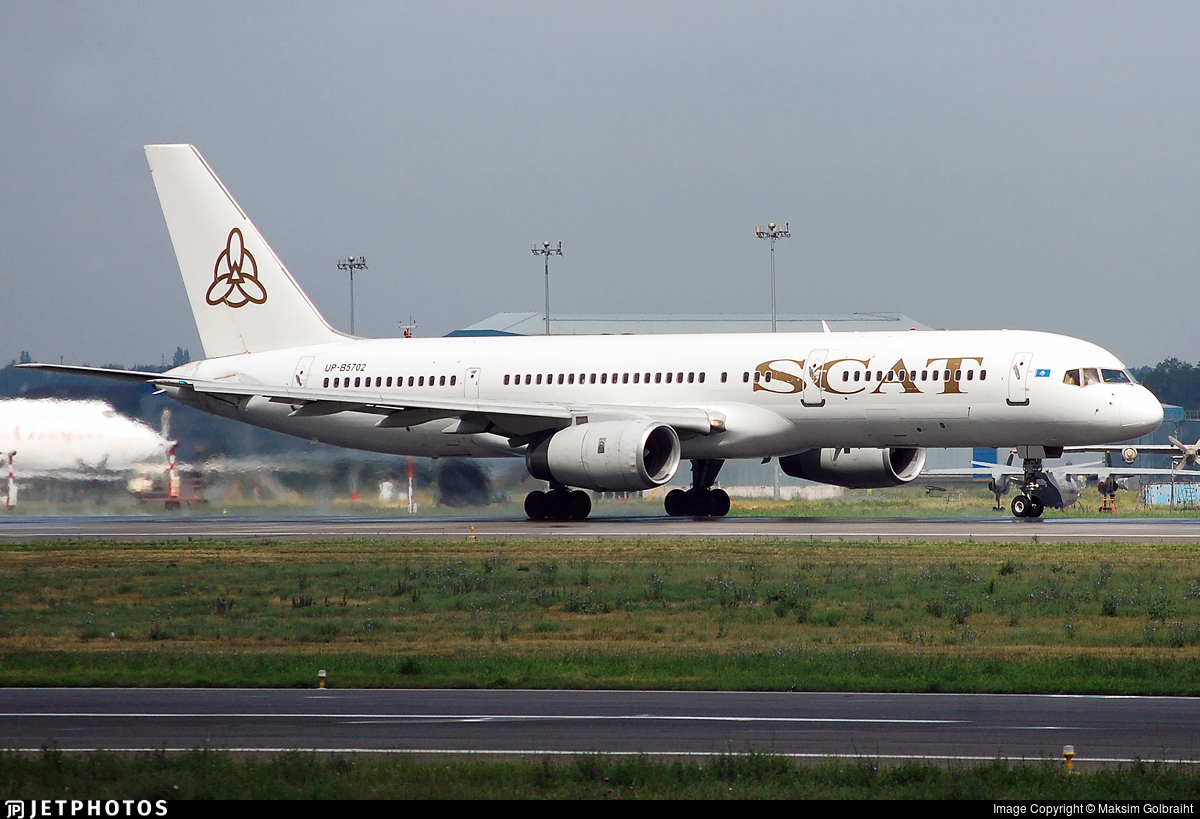 UP-B5702 - Boeing 757-21B - Scat Air Company
