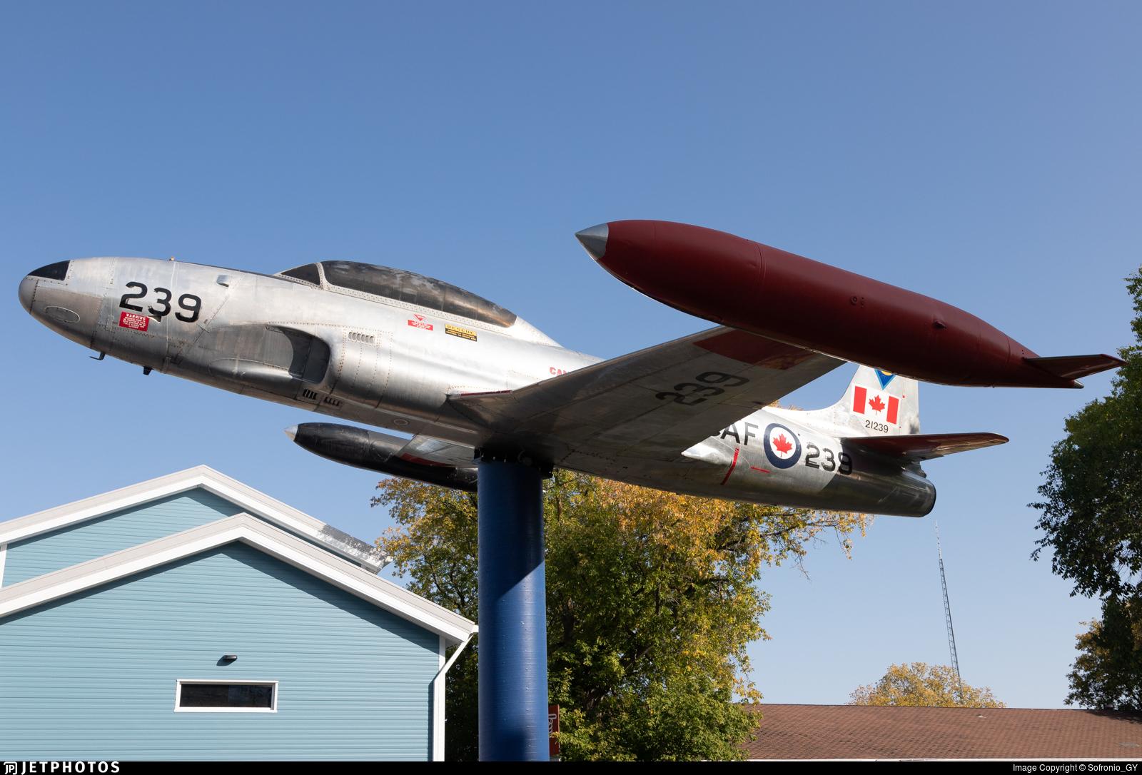 21239 - Canadair CT-133 Silver Star - Canada - Royal Canadian Air Force (RCAF)