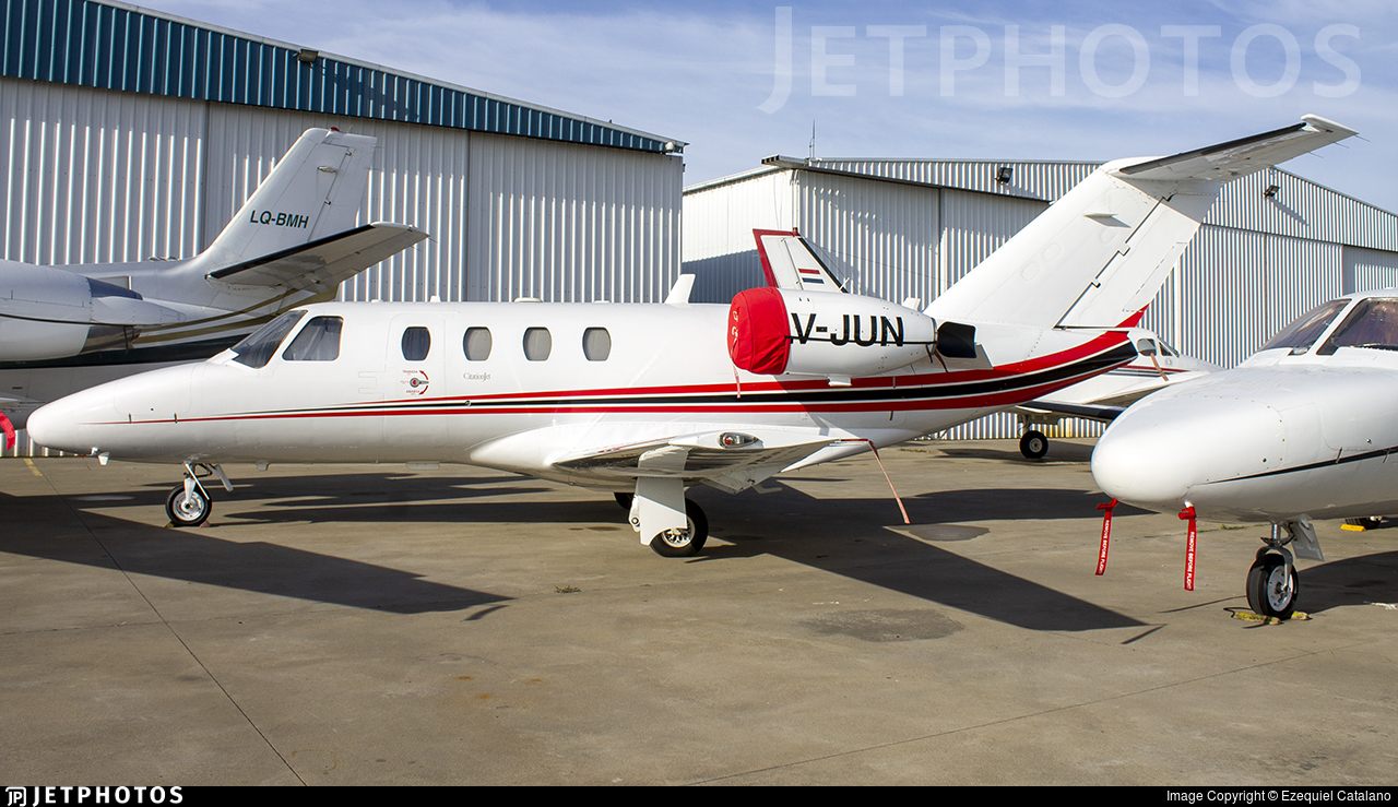 LV-JUN - Cessna 525 CitationJet - Private