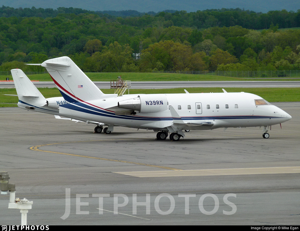N39RN - Bombardier CL-600-2B16 Challenger 604 - Private