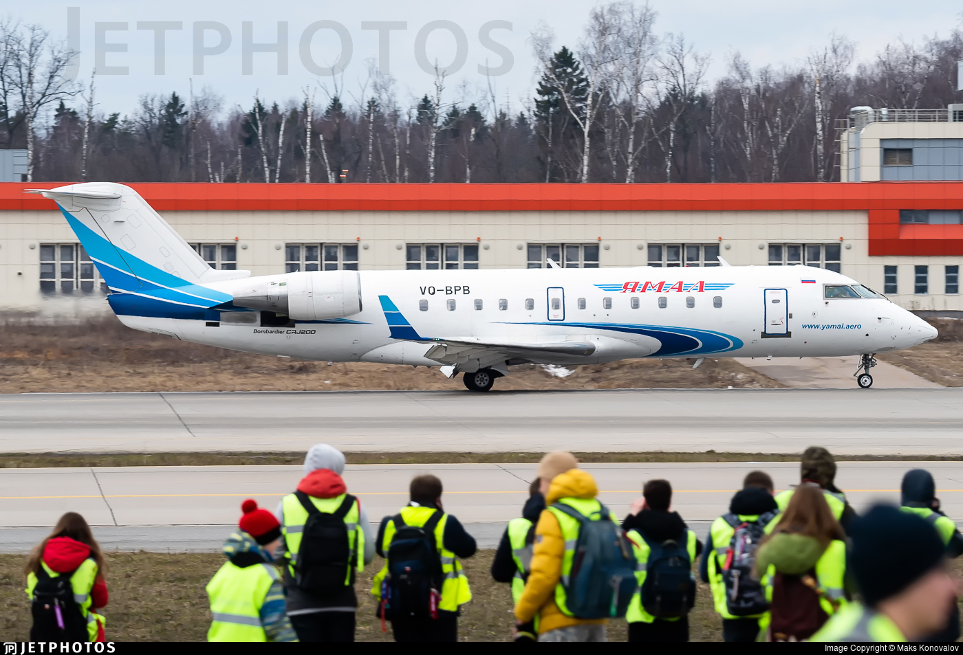 VQ-BPB - Bombardier CRJ-200LR - Yamal Airlines