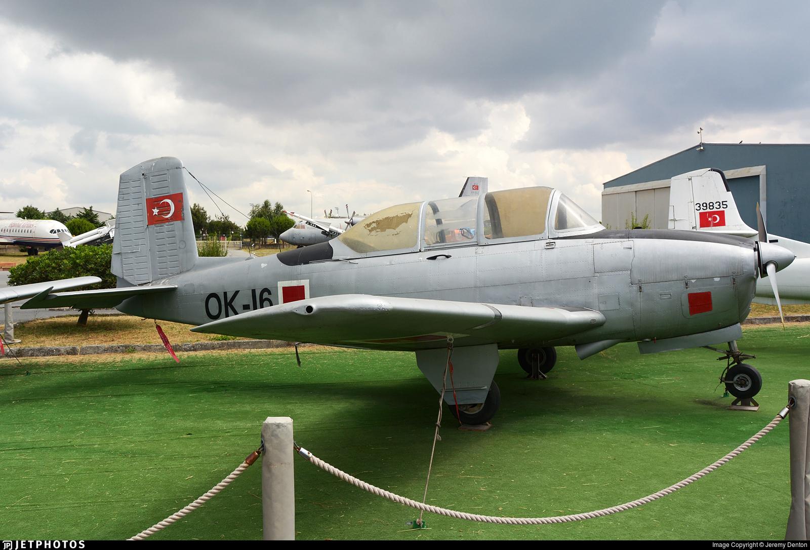 54-5216 - Beechcraft T-34A Mentor - Turkey - Air Force