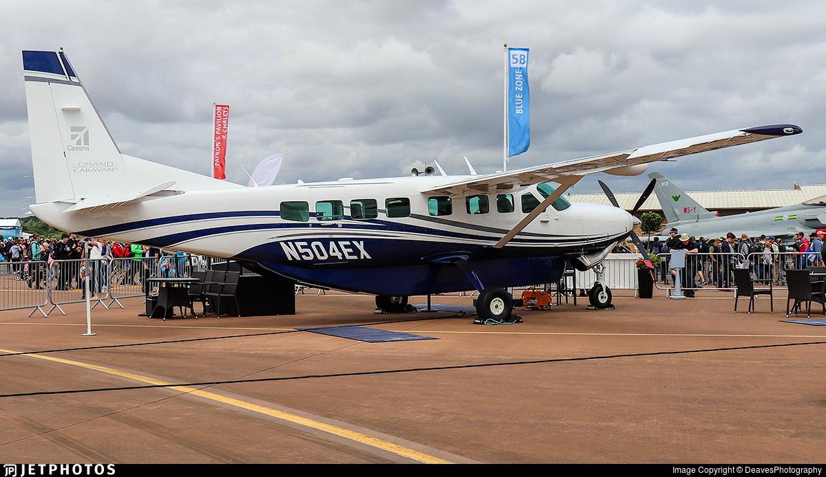 N504ex Cessna 208b Grand Caravan Ex Textron Aviation Deavesphotography Jetphotos