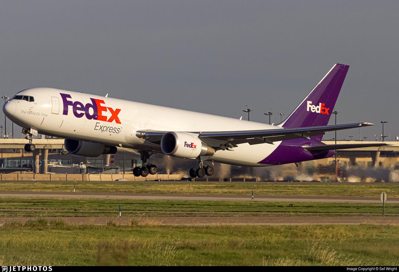 N143FE - Boeing 767-3S2F(ER) - FedEx