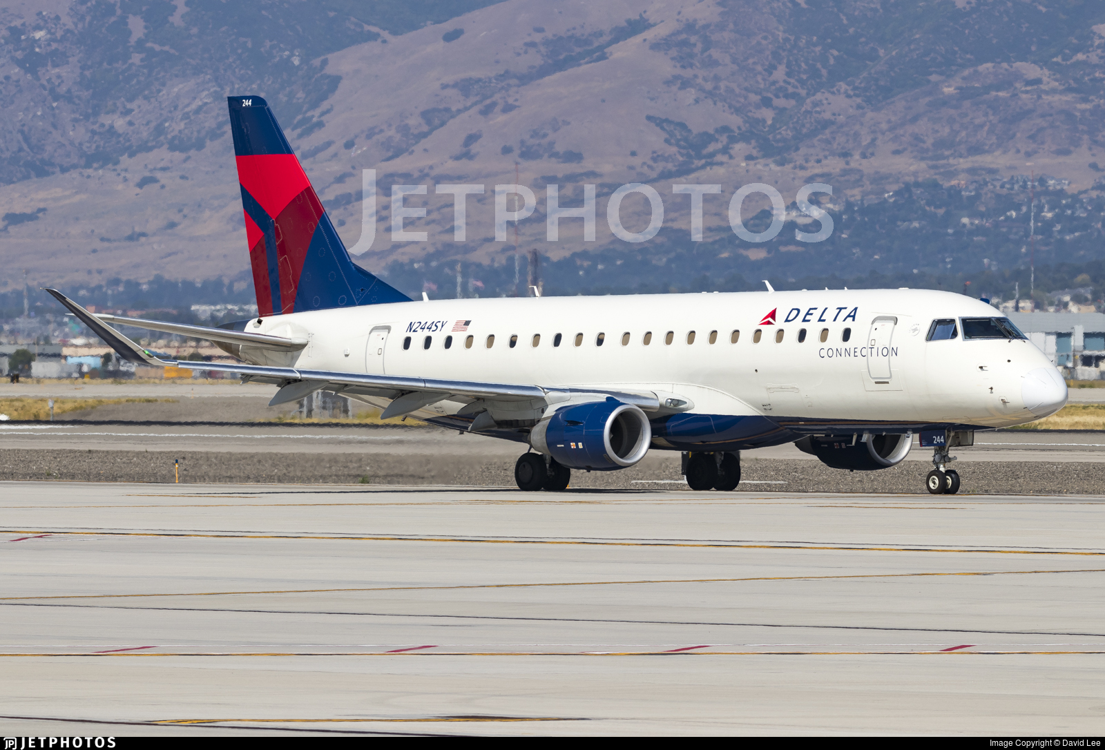 N244SY - Embraer 170-200LR - Delta Connection (SkyWest Airlines)