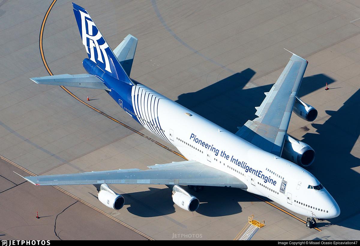 N787RR - Boeing 747-267B - Rolls-Royce