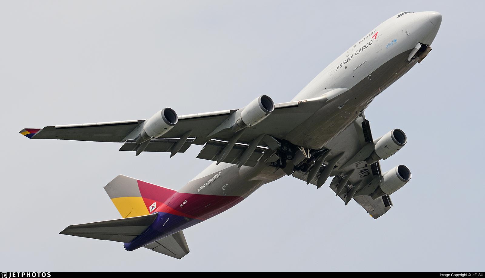 HL7413 | Boeing 747-48E(BDSF) | Asiana Cargo | jeff SU ...