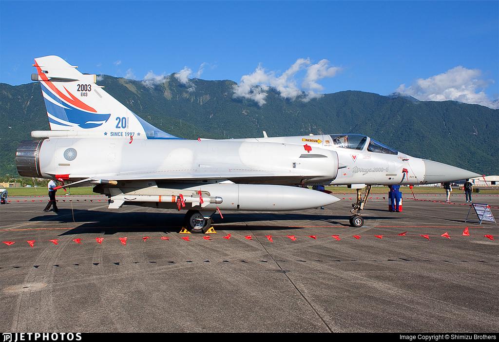 2003 | Dassault Mirage 2000-5EI | Taiwan - Air Force