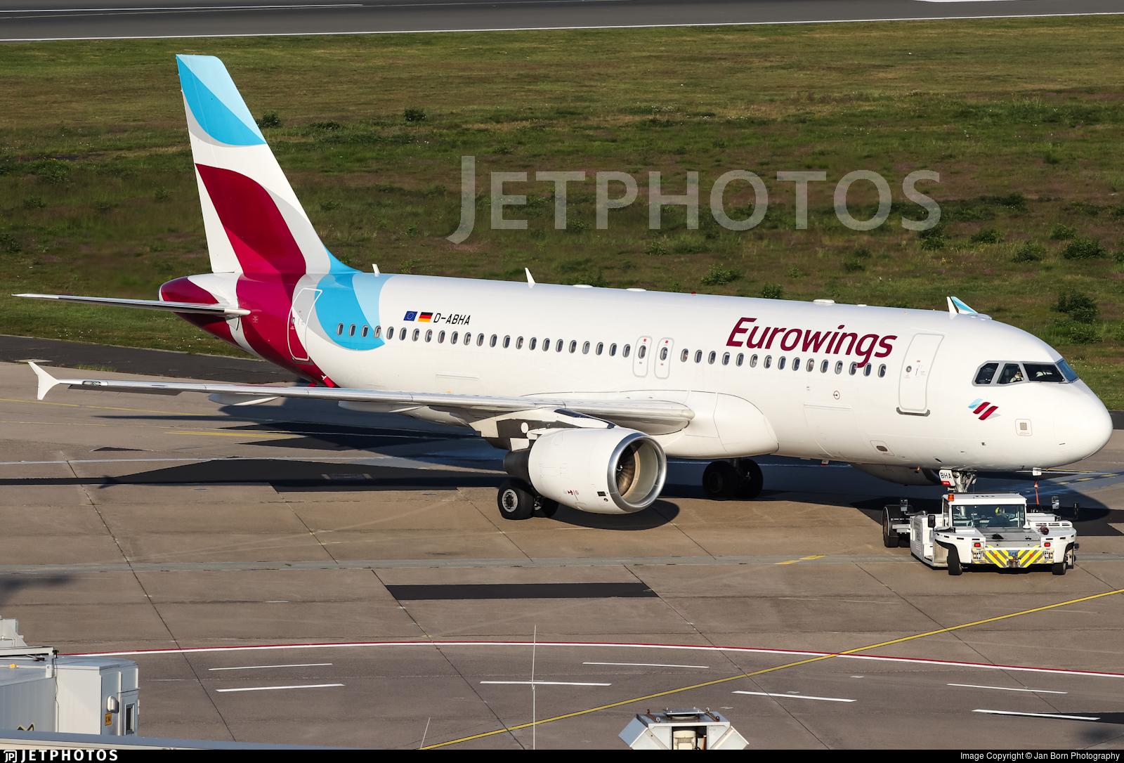 D-ABHA - Airbus A320-214 - Eurowings