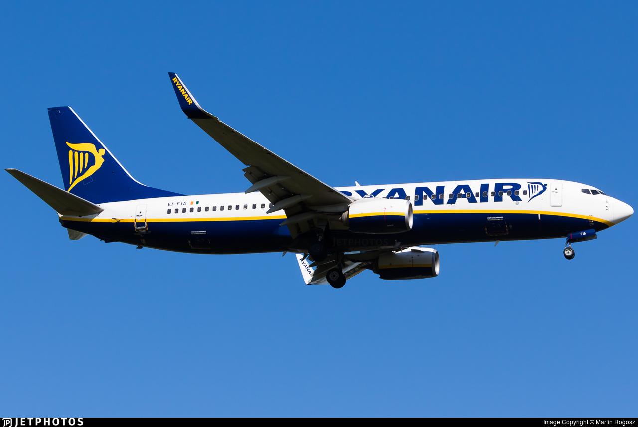 EI-FIA - Boeing 737-8AS - Ryanair