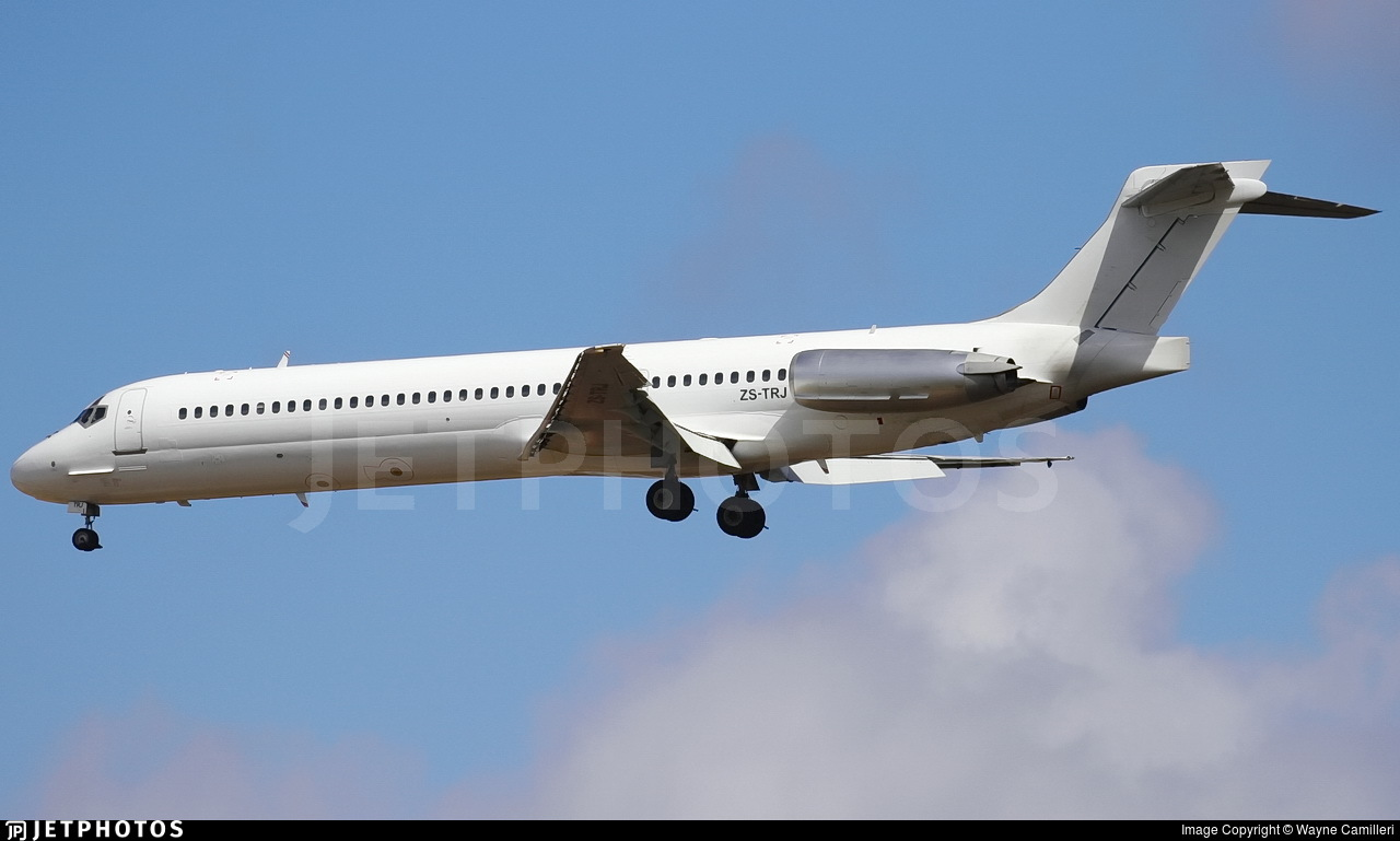 ZS-TRJ - McDonnell Douglas MD-87 - Gryphon Airlines