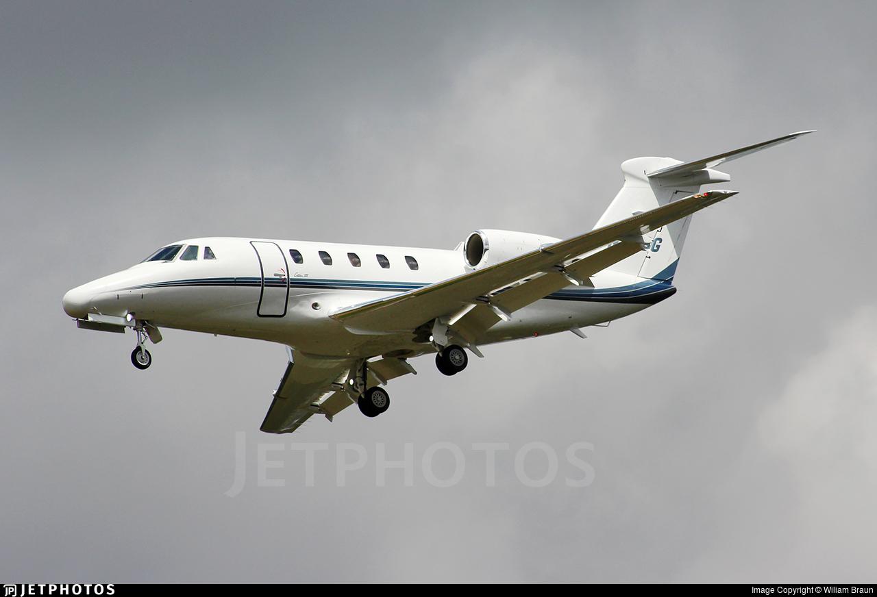 N876G - Cessna 650 Citation VI - Private