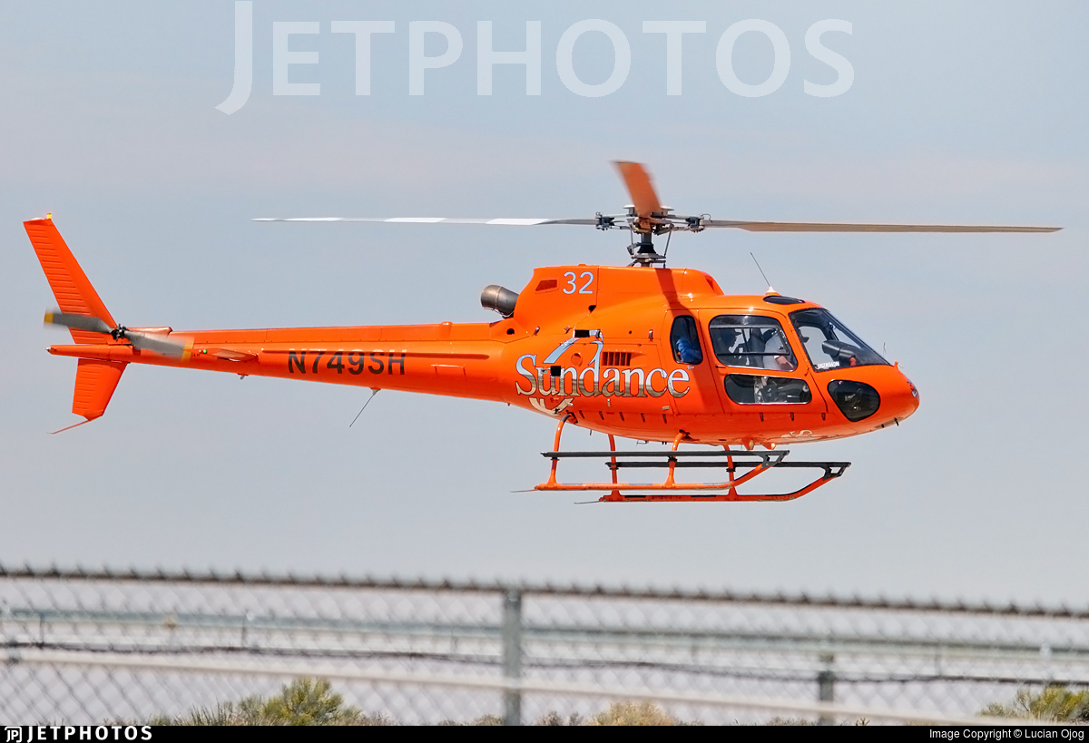 N749SH - Eurocopter AS 350B2 Ecureuil - Sundance Helicopters