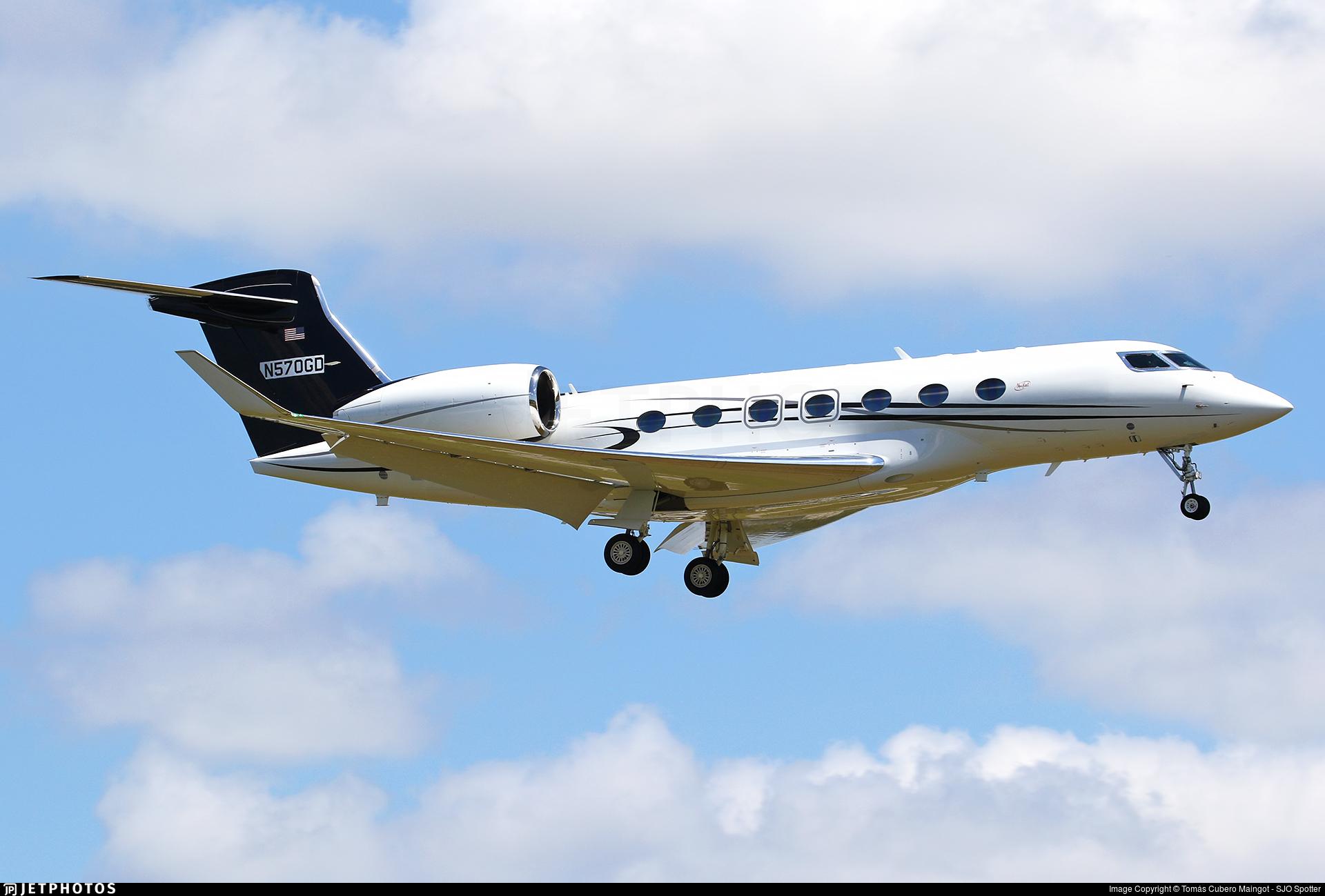 N570GD - Gulfstream G500 - Private