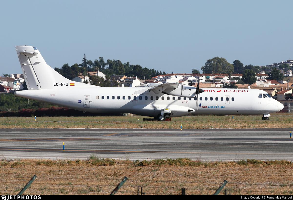 EC-NFU - ATR 72-212A(600) - Iberia Regional (Air Nostrum)